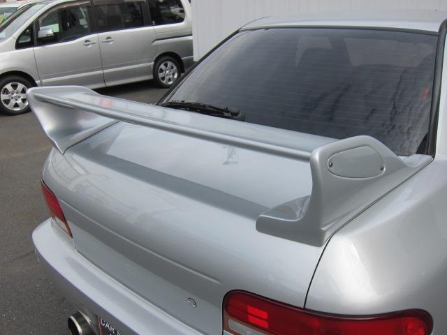 スバル インプレッサ WRX 4WD ターボ 5速マニュアル ETC 社外アルミ