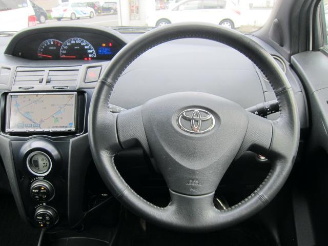 トヨタ ヴィッツ RS HDDナビ 純正エアロ 社外アルミ HID ETC