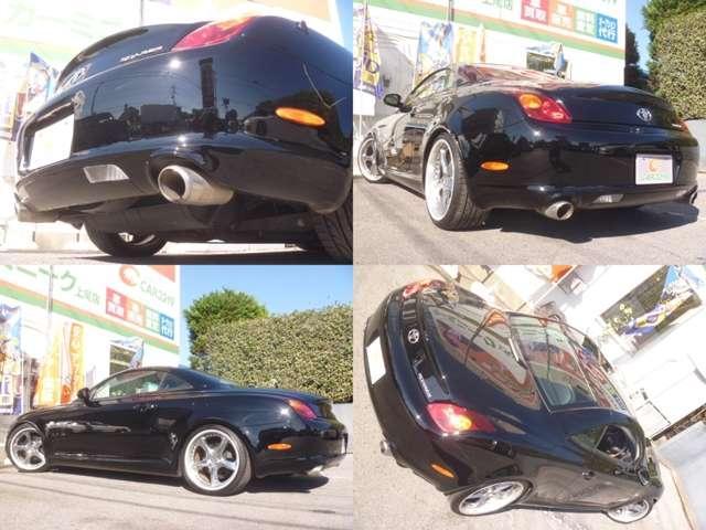 トヨタ ソアラ 430SCV 黒本革 テイン車高調 社外19AW 純正ナビ