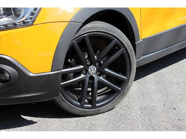 フォルクスワーゲン VW ポロ クロスポロ ICターボ 純正メモリーナビ フルセグ 17AW
