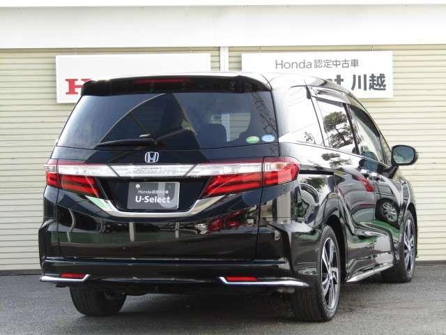 アブソルート・Xホンダセンシング 8インチナビ・リア席モニター・タイヤ新品(3枚目)