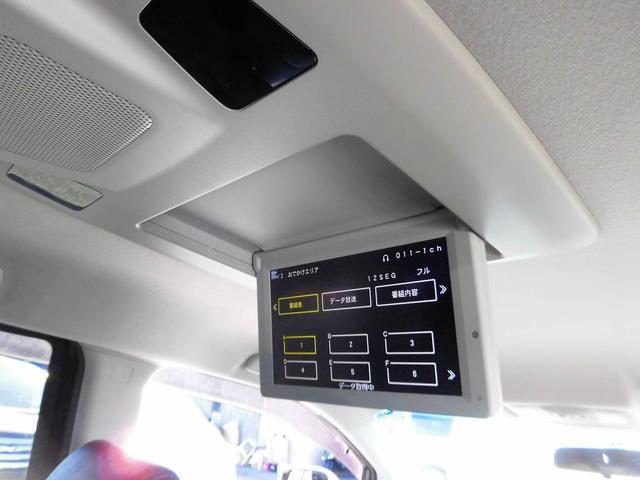 革 ツインモニター HDDナビ DVD再生 Bluetooth アラウンドビュー 両自動ドア ETC ソナー パワーシート パワーテールゲート フルエアロ 純正18インチAW 7人オットマン