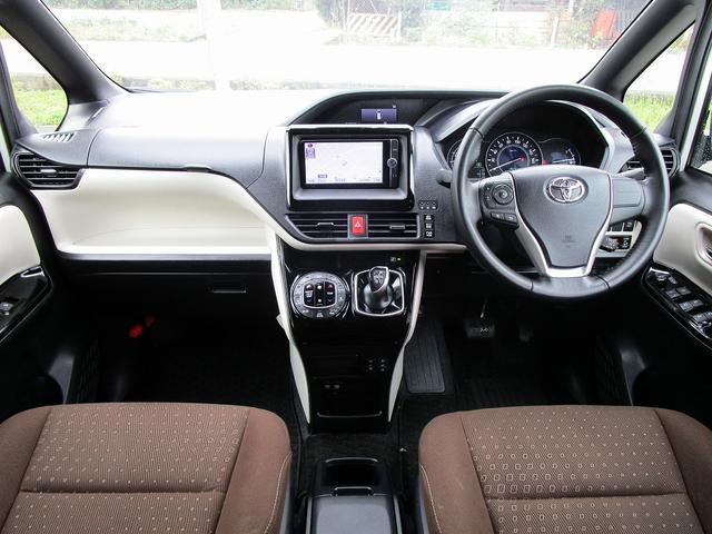 ハイブリッドG 後期型・セーフティセンス・フルセグナビ・後席モニター・Bluetoothオーディオ・両側自動ドア・シートヒーター・LEDライト・フォグLED・クルーズコントロール・ETC・本革巻ステアリング・Pガラス(4枚目)