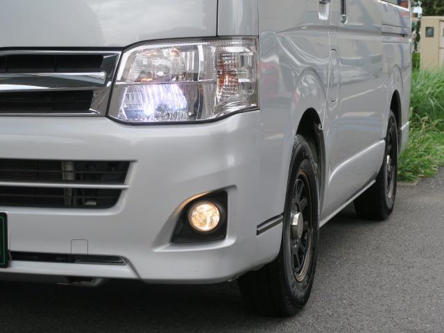 トヨタ レジアスエースバン ロングスーパーGL ナビETC HID 社外アルミ キーレス