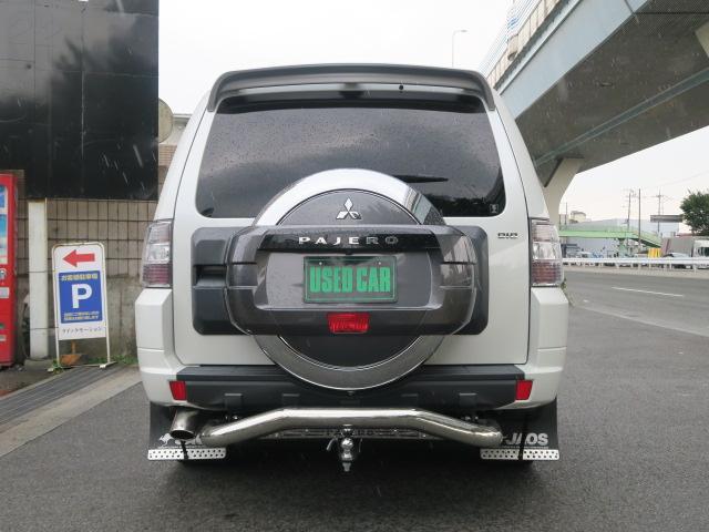 三菱 パジェロ ロング GR ディーゼルターボ 4WD ヒッチメンバー ナビ