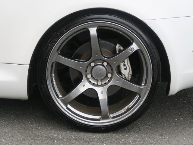 SC430 ナビ 車高調 RAYSアルミ 黒革 キーレス クルコン マークレビンソン HID(13枚目)