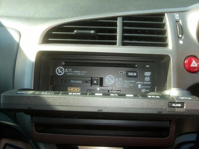 ホンダ ストリーム RSZ特別仕様車 禁煙 Bモニタ  HDDナビエディション