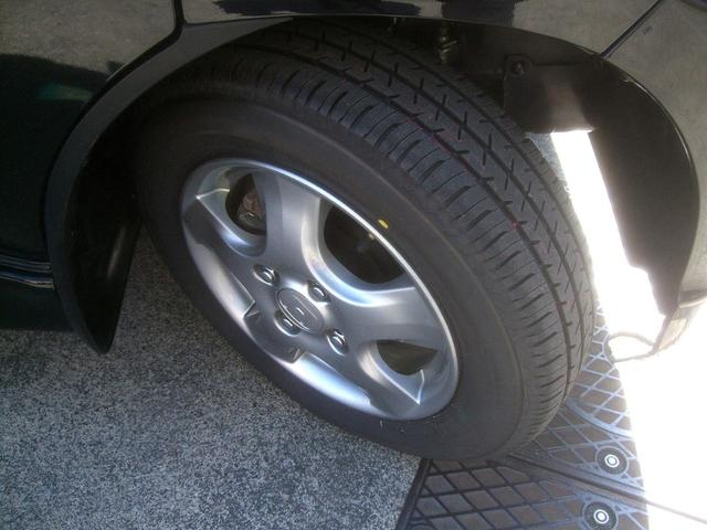 純正13インチアルミ 4本タイヤ交換済み