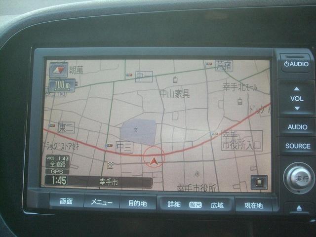 G HDDナビ ワンセグ DVDビデオ CD ラジオ バックカメラ ETC HIDライト 禁煙車 オートエアコン キーレス 社外15インチアルミホイール(9枚目)