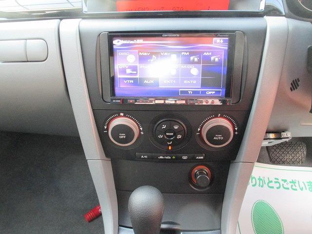 マツダ アクセラスポーツ 15F HDDナビ ダウンサス 社外18インチAW