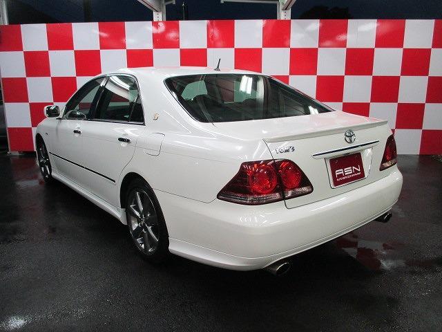 トヨタ クラウン アスリート  HDDナビ フルセグ 車高調 トムスマフラー