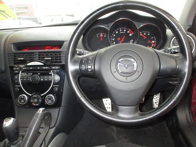 マツダ RX-8 タイプS 社外19AW 車高調 カードキー ETC CD