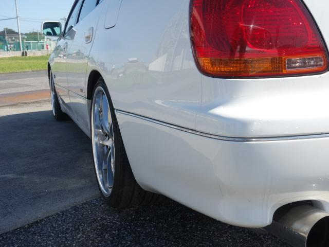 V300ベルED改5速公認車VVT-i完動19AW自社製作車(12枚目)