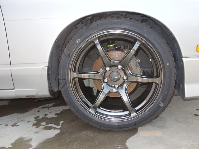6速改S15ターボエンジン公認車新品車高調18AW自社製作車(10枚目)