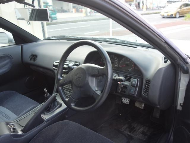 6速改S15ターボエンジン公認車新品車高調18AW自社製作車(15枚目)