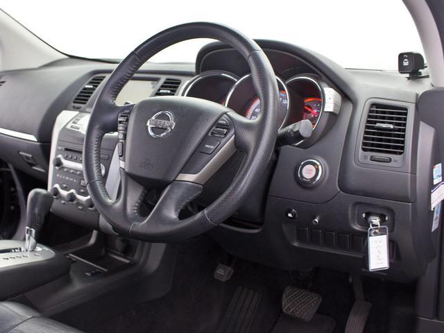 日産 ムラーノ 250XV FOUR サンルーフ 黒本革 HDDマルチ