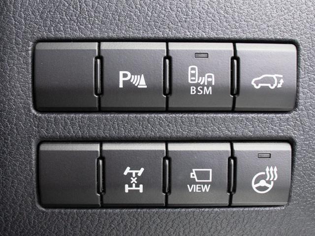 先進機能搭載!クリアランスソナー、パワーバックドア、ブラインドスポットモニター、ステアリングヒーター等多数!