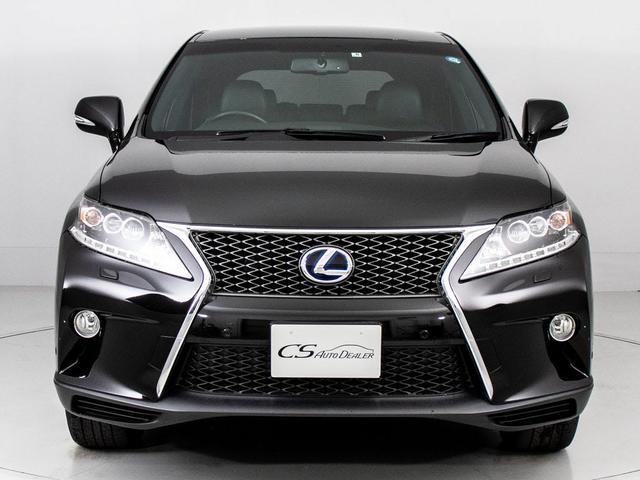 RX450h Fスポーツ 黒本革シート/パワーバックドア/メーカーHDDナビ/サイド&バックカメラ/LEDヘッドライト/パワ-シート/シートヒーター/ETC/4WD/クルーズコントロール/ヘッドアップディスプレイ(9枚目)