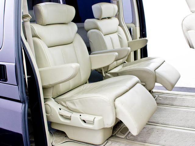 日産 エルグランド 350XL SR 本革 Aビュー リアモニタ シアターSS
