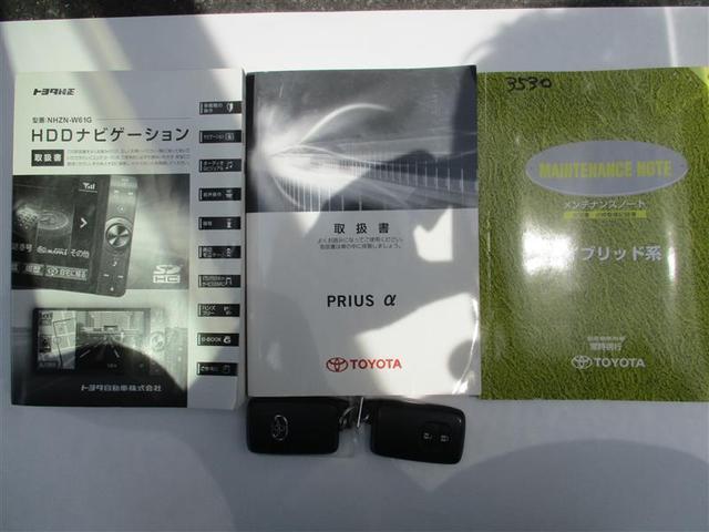 S フルセグ HDDナビ DVD再生 バックカメラ ETC 記録簿(22枚目)