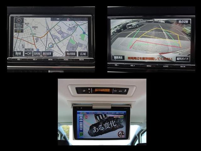 ハイブリッドG バックモニタ 地デジ 横滑り防止装置 LEDヘッド ワンオーナー クルコン 盗難防止システム ETC メモリーナビ 3列シート DVD スマートキー ナビTV CD アルミ キーフリー ABS(3枚目)
