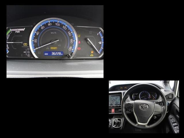 ハイブリッドG バックモニタ 地デジ 横滑り防止装置 LEDヘッド ワンオーナー クルコン 盗難防止システム ETC メモリーナビ 3列シート DVD スマートキー ナビTV CD アルミ キーフリー ABS(5枚目)