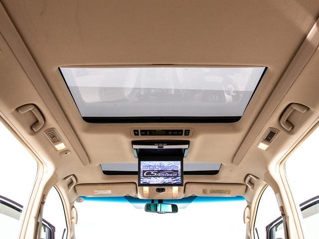 G Lパッケージ エグゼクティブシート/本革/ツインサンルーフ/後席モニター/両側自動ドア/パワーバックドア/バックカメラ/メーカーHDDナビ/パワーシート/シートヒーター/ETC/クルーズコントロール/AC100V(4枚目)