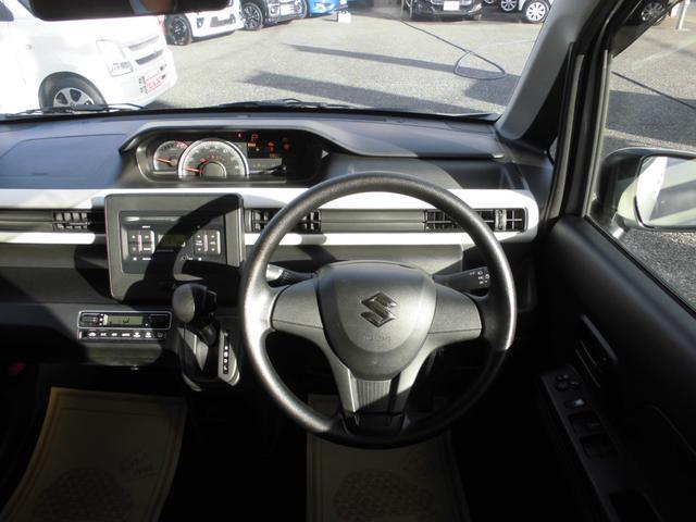 ハイブリッドFX CDプレイヤー装着車 運転席シートヒーター Wエアバッグ ABS リモコンキー(2枚目)