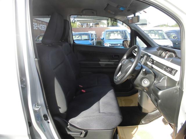ハイブリッドFX CDプレイヤー装着車 運転席シートヒーター Wエアバッグ ABS リモコンキー(3枚目)