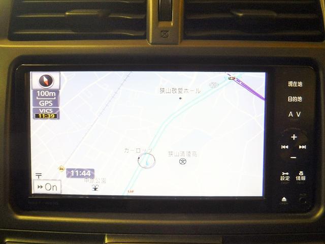 トヨタ ラクティス S 純正SDナビ バックカメラ フルセグ クルコン