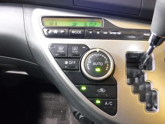 トヨタ アイシス プラタナ 助手席リフトアップシート 純正SDナビ ETC