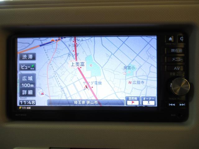 純正のSDナビ搭載です。初めての場所でも安心ですね。地図データの更新もご相談ください