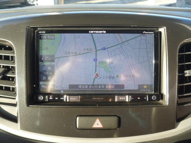 スズキ ワゴンRスティングレー 660 スティングレー T 4WD メモリーナビ ETC