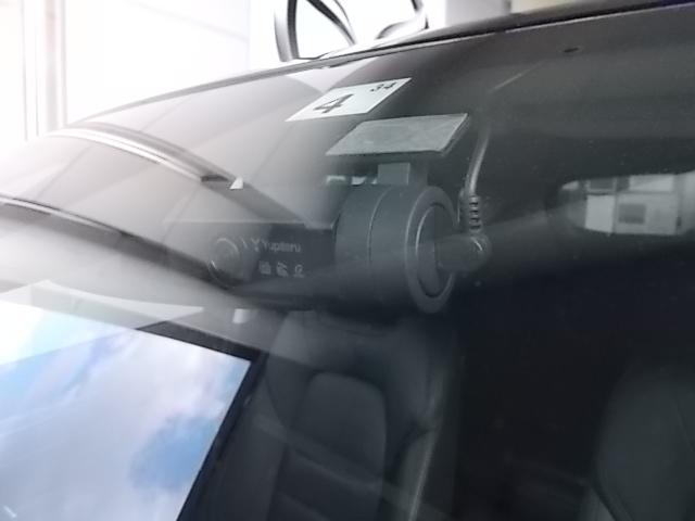 万が一の場合も安心なドライブレコーダーが装着されております。