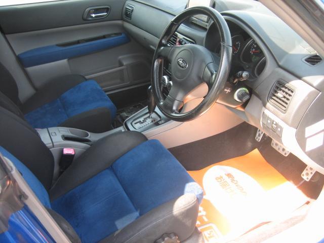 スバル フォレスター XT WR-リミテッド2004 Tベルト交換済STIマフラー