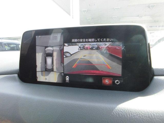 360度モミター付きバックカメラで狭い駐車場でも簡単にバックができて奥様も大喜びです☆