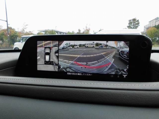 ボタン一つで切替が出来ます。360度モニター付きフロントカメラで安全確認もし易く安心です☆