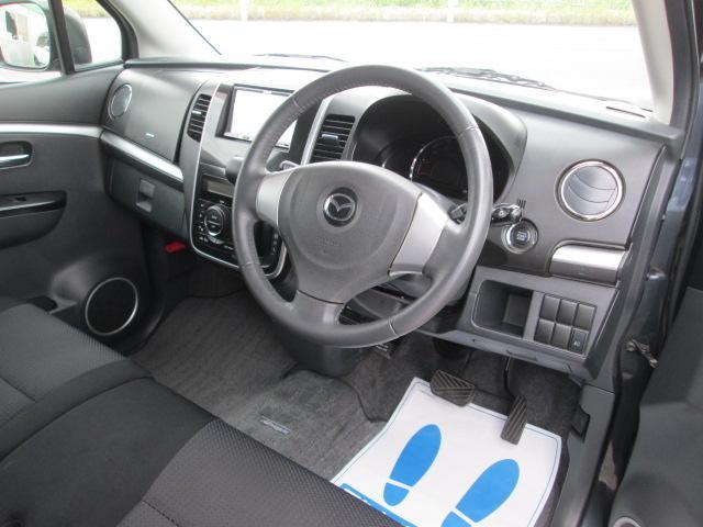 マツダ AZワゴンカスタムスタイル XSナビTV ETC HID タイミングチェーン車