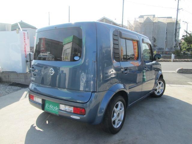 日産 キューブ 15福祉車両 助手席電動回転スライドアップシート 純正ナビ付