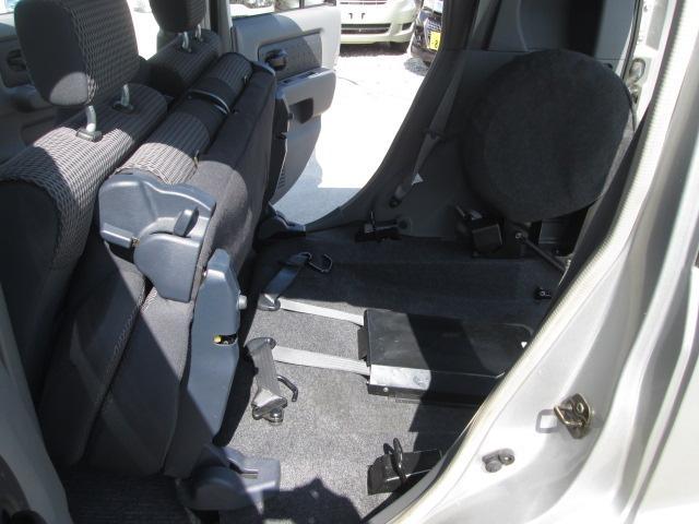 日産 キューブ 福祉車両 スローパー ニールダウン式 車椅子移動車
