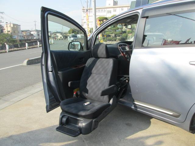 G 4WD 福祉車両 助手席電動回転シート HDDナビETC(11枚目)