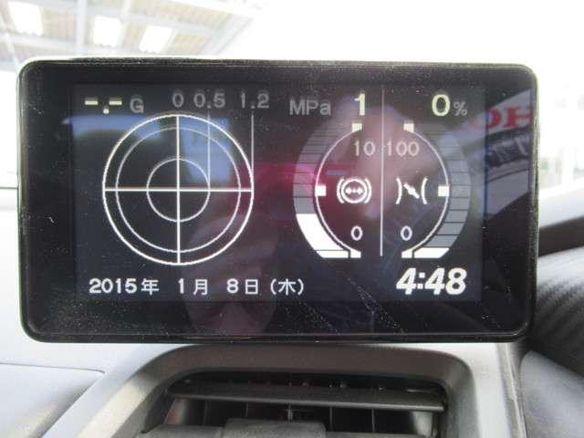 α センターディスプレイ バックカメラ(5枚目)