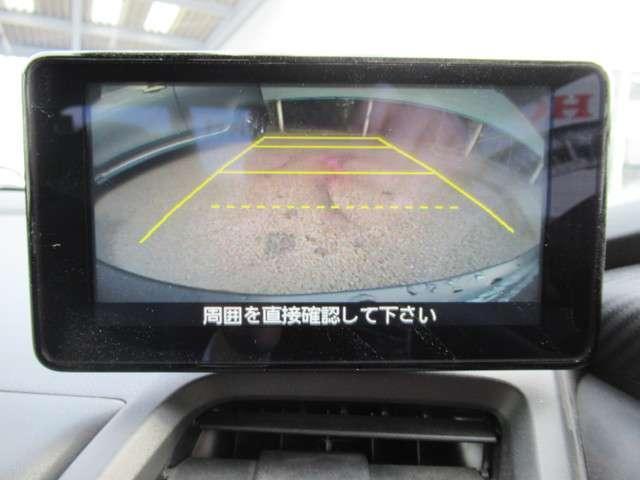 α センターディスプレイ バックカメラ(6枚目)