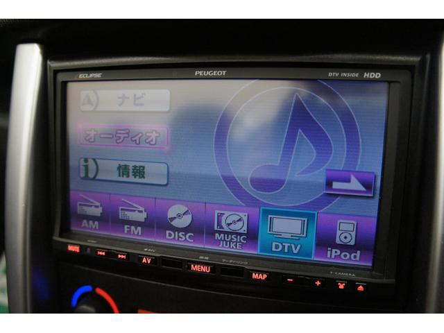 プジョー プジョー 207 CC HDDフルセグナビ ガレージ保管正規D車