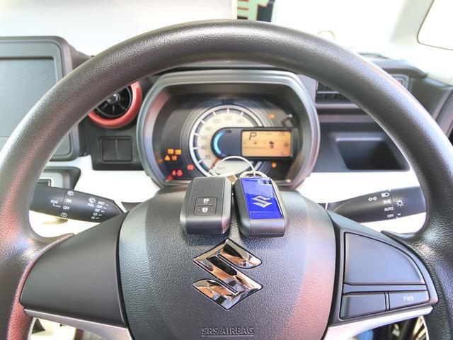 スズキ スペーシア ハイブリッドG 前方後方自動ブレーキ 届済未使用車 内装黒