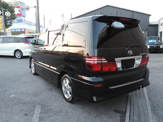 トヨタ アルファードV AS 社外HDDナビ 両側Pスラ 後席モニター 地デジ