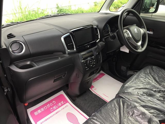 スズキ スペーシアカスタム GS 届出済未使用車 左側パワースライドドア シートヒーター