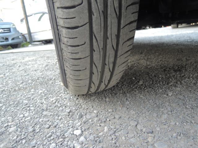 タイヤはたっぷり8分山になります!