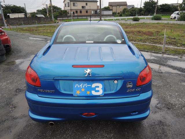 「プジョー」「206」「オープンカー」「埼玉県」の中古車5