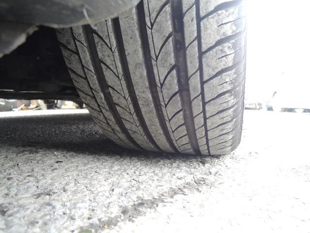タイヤはしっかり7分山になります!